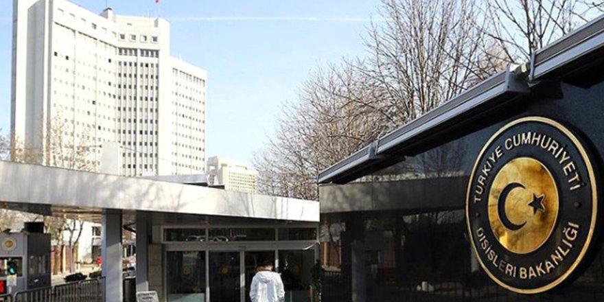Dışişleri Bakanlığı: Üçlü zirve sonrası yayımlanan bildiriyi reddediyoruz