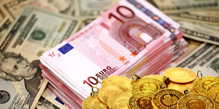 Dolar ve Euro yükselişte, altın tarihi zirvede