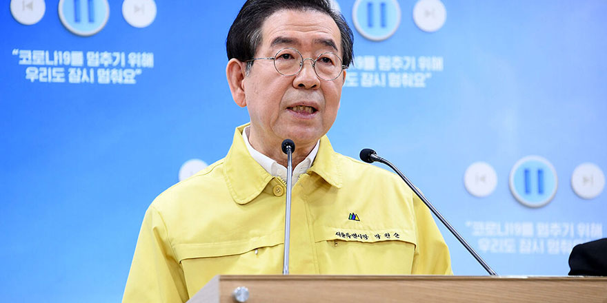 Dün kaybolan Seul Belediye Başkanı ölü bulundu