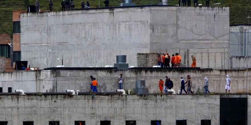Ekvador hapishanelerinde çıkan isyanda ölü sayısı 75'e yükseldi