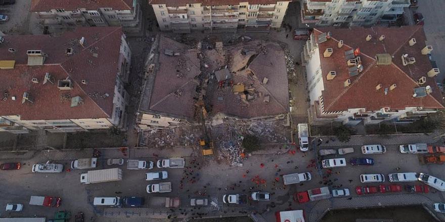 Elazığ Depremi'nde hayatını kaybedenlerin sayısı 22 oldu
