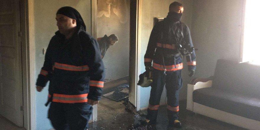 Elazığ'da yangın faciası! 8 aylık bebek yaşamını yitirdi
