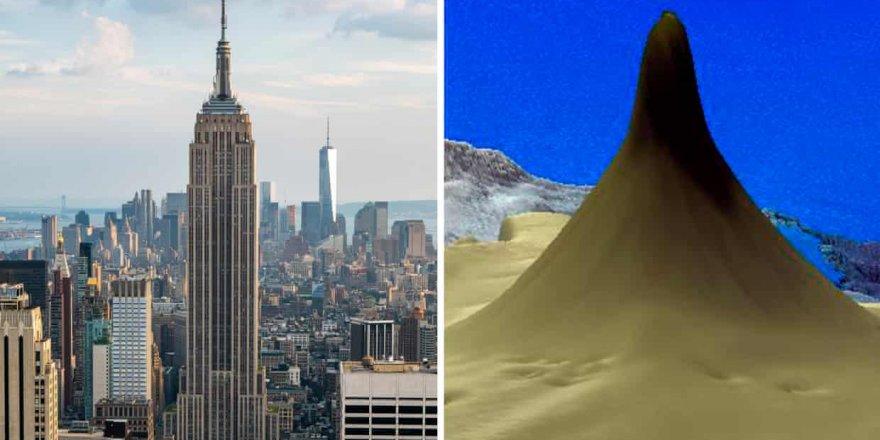 Empire State Binası'ndan daha uzun mercan resifi
