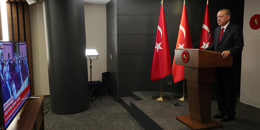 Erdoğan, hakim ve savcılara seslendi