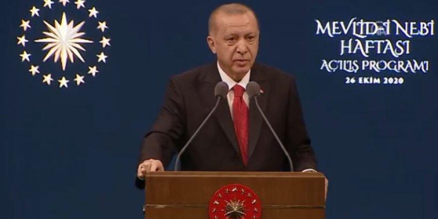 Erdoğan'dan boykot çağrısı: Fransız malları almayın!