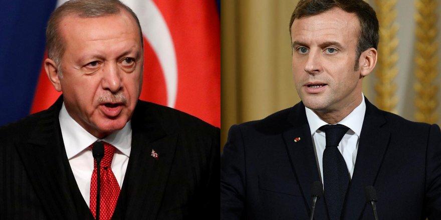 Erdoğan'dan Macron'a : Zihinsel açıdan tedaviye ihtiyacı var.