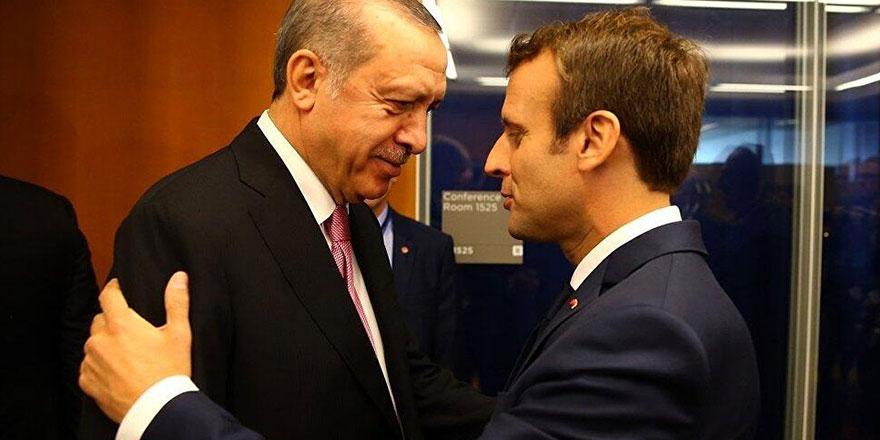 Erdoğan'ın Macron çıkışı sonrası Paris'in ilk tepkisi
