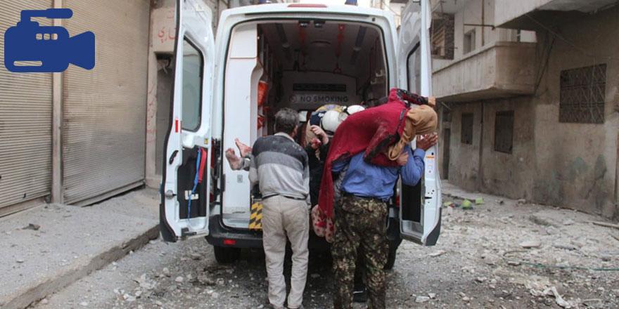 Esed, İdlib'de sivilleri vurdu: 4'ü çocuk 7 sivil katledildi