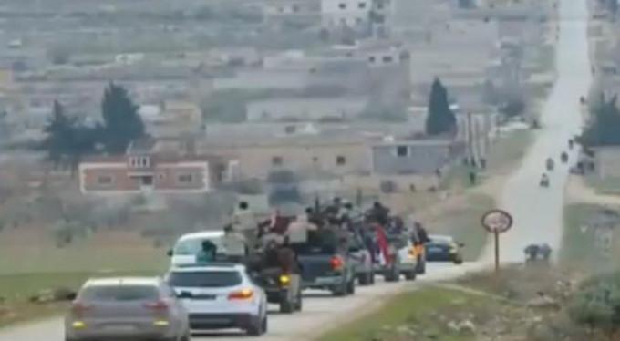 Esed rejimi ve Şii milisler Afrin'e giriş yaptı