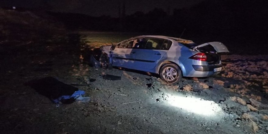 Eşi doğumhanedeyken kaza yapan sürücü hayatını kaybetti