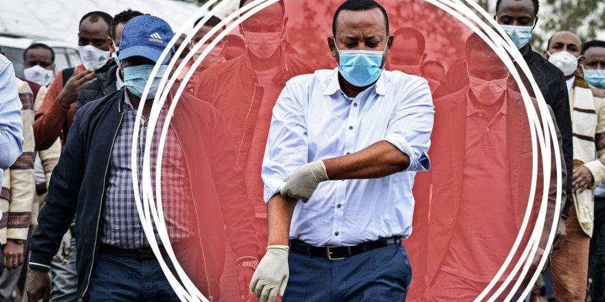 Etiyopya'da maske takmayanlara 2 yıl hapis