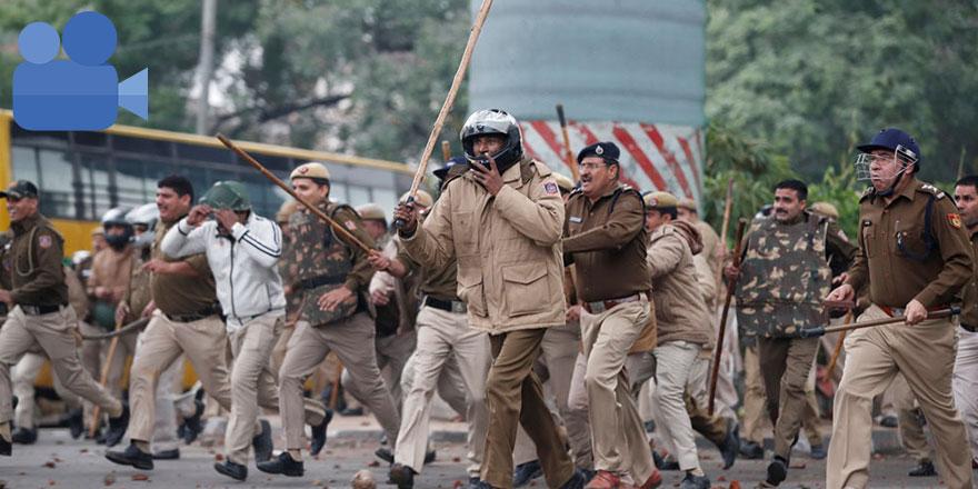 Faşist Hindu polisine şok misilleme!