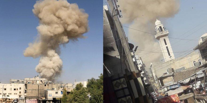 Fırat Kalkanı bölgesi El Bab'ta bombalı araç saldırısı
