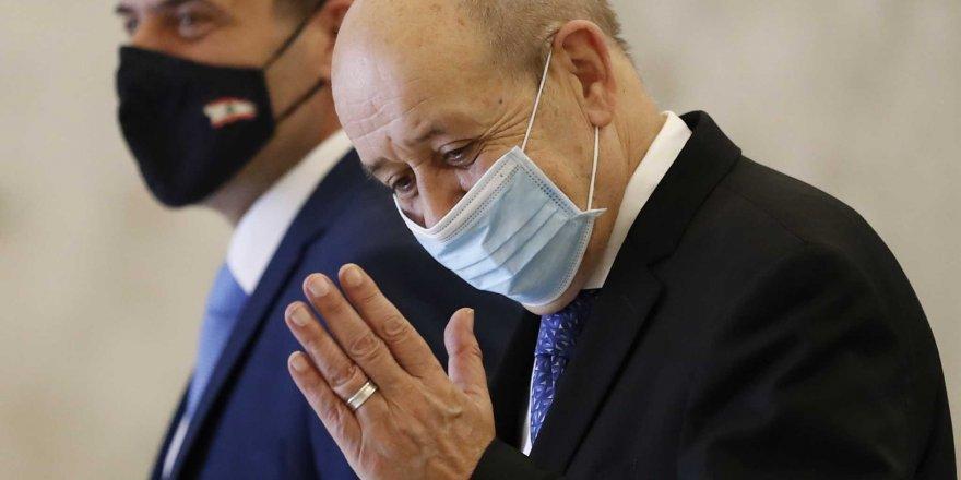 Fransa Dışişleri Bakanı Le Drian'ın Lübnan ziyareti olumsuz geçti