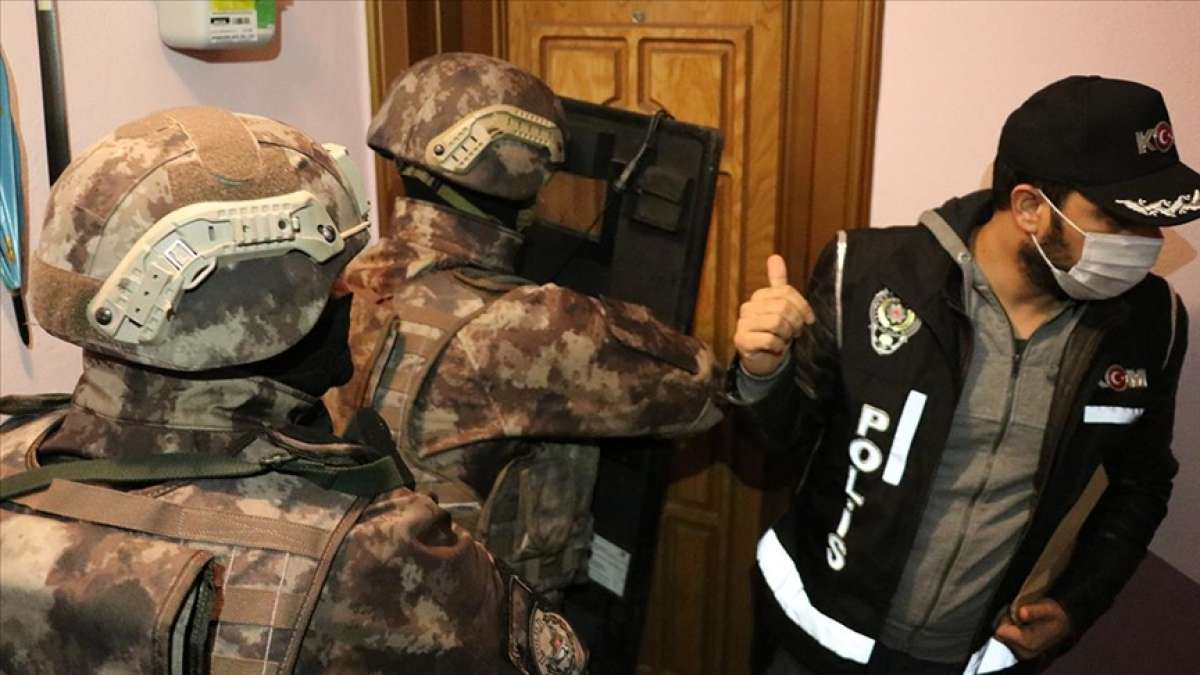 Gaziantep'te uyuşturucu ve hırsızlık operasyonu 404 şüpheli gözaltına alındı