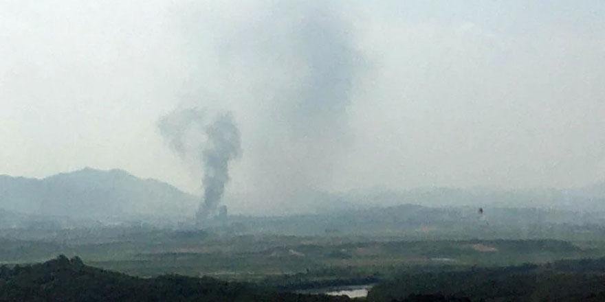 Güney Kore: Kuzey Kore sınırındaki irtibat ofisi havaya uçuruldu!