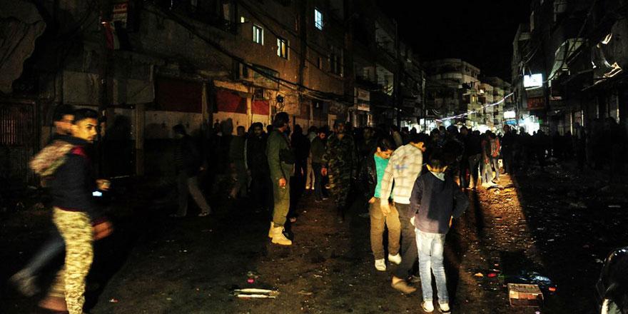 Guta'nın intikamı için Şam'a roketli saldırı: 35 ölü