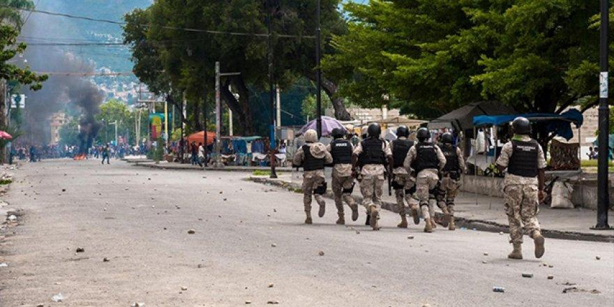 Haiti'de darbe iddiasıyla 20'den fazla tutuklama