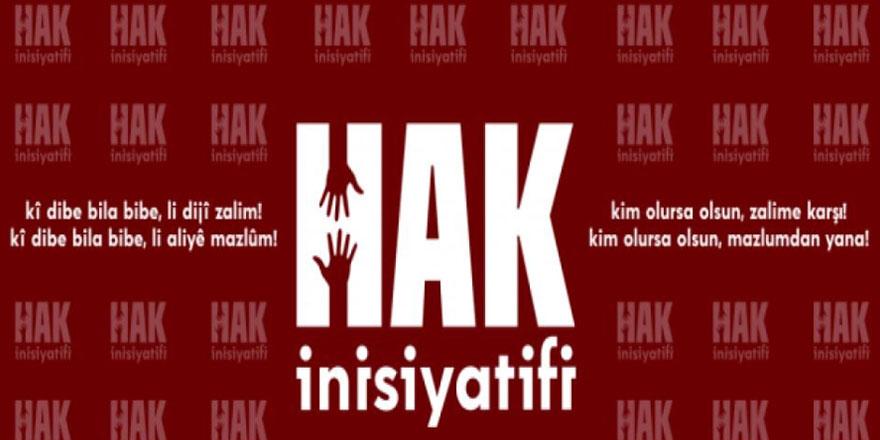 HAK İnisiyatifi'nden Silivri zulmü ile ilgili basın açıklaması