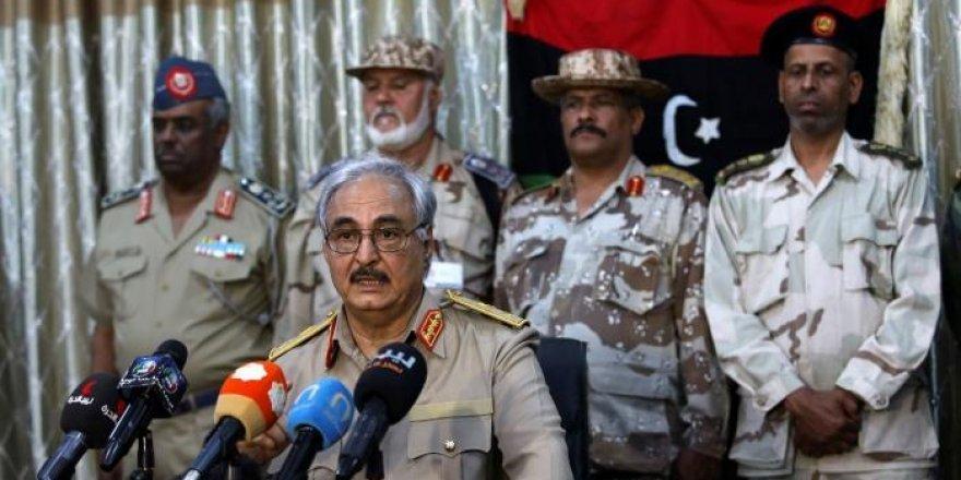 Halife Hafter'den askeri bölge ilanı