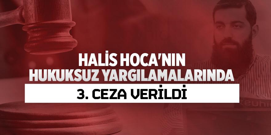 Halis Hoca'nın hukuksuz yargılamalarında 3. ceza verildi