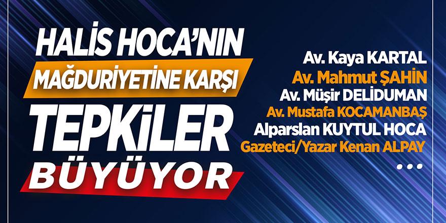 Halis Hoca'nın mağduriyetine karşı tepkiler büyüyor