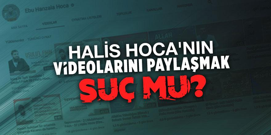 Halis Hoca'nın videolarını paylaşmak suç mu?