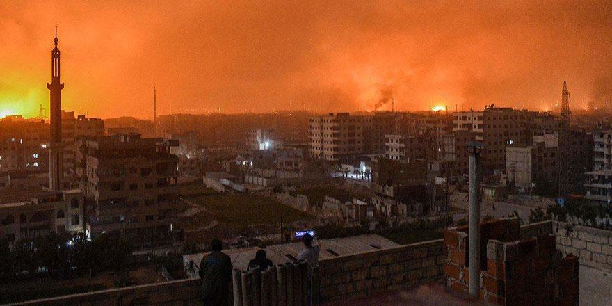 Hama ve Halep'te rejim üsleri vuruldu