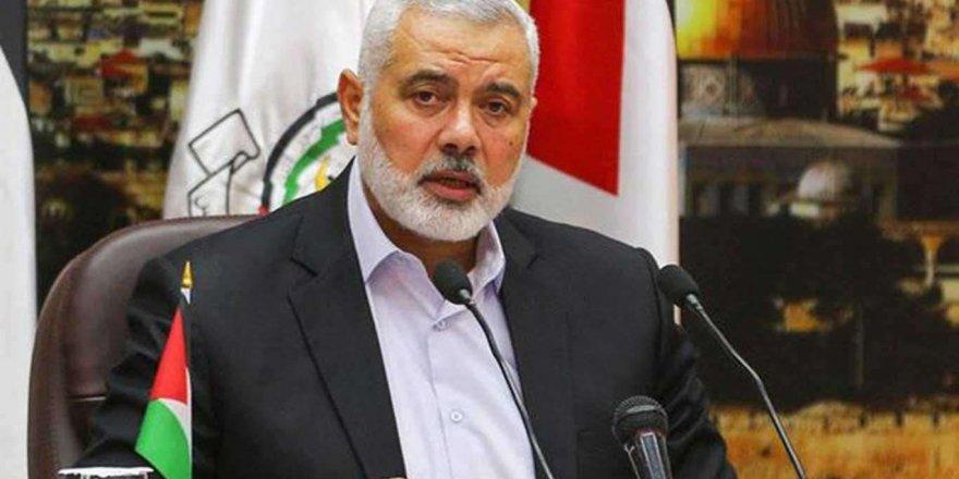 Hamas ve Filistin Kurtuluş Cephesi Lübnan'da bir araya geldi