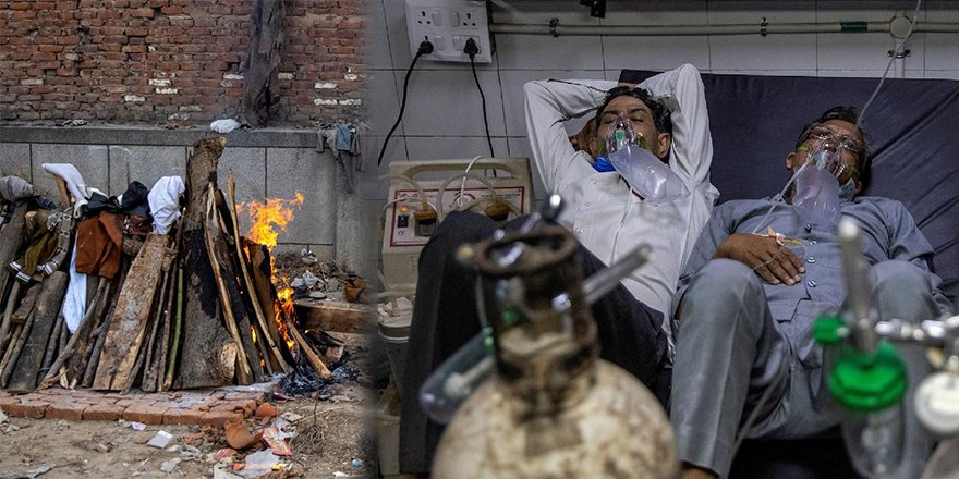 Hindistan'ın Goa'sında Hastanede oksijen yetersizliği nedeniyle Covid-19'dan 75 kişi öldü