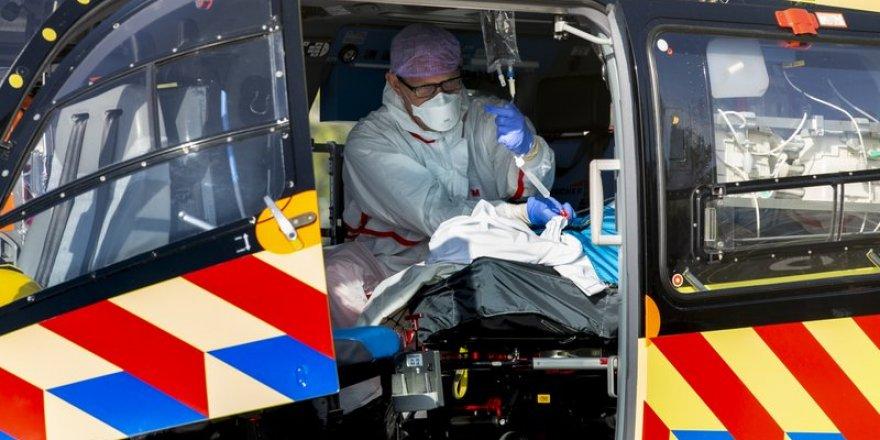 Hollanda'da yoğun bakımlar çöktü; hastalar Almanya'ya naklediliyor