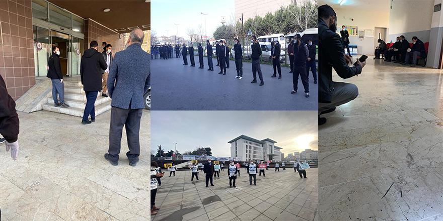 Hukuksuzluk zirve yaptı: 25 kişi gözaltına alındı