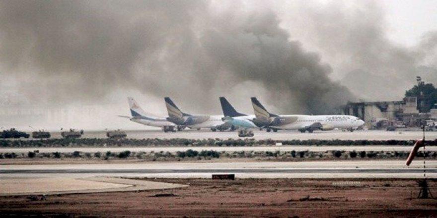 Husiler Suudi Arabistan'daki Abha Havalimanı'nı vurdu