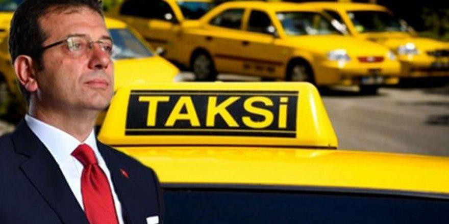 İBB'nin '6 bin yeni taksi' projesi teklifireddedildi