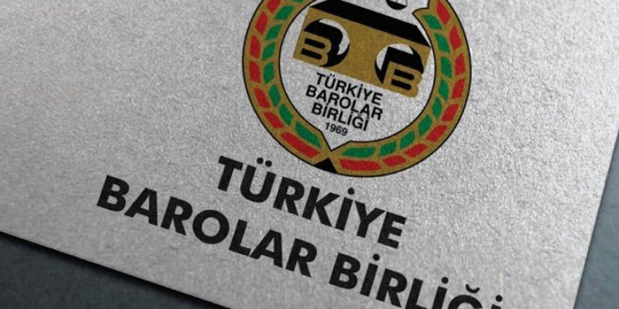 İçişleri Bakanlığının genelgesi kapsamında Baro seçimleri ve TBB genel kurulu ertelenecek