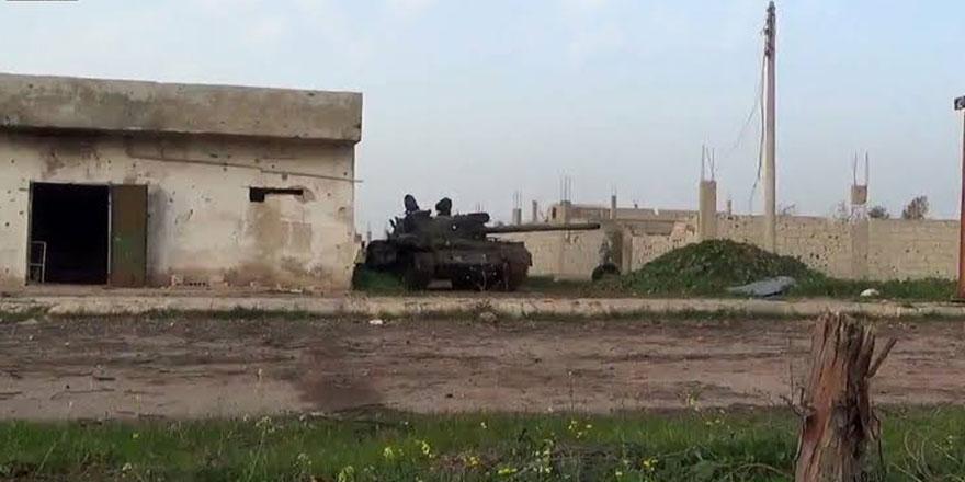 İdlib'te Rejim tankı ATGM ile hedef alındı
