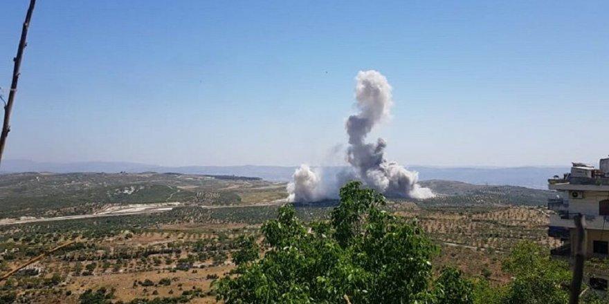 İdlib'te TSK konvoyunun geçişi sırasında patlama
