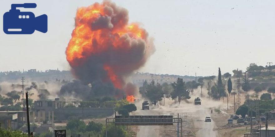 İdlib'te Türk-Rus ortak devriyesine yönelik bombalı saldırı