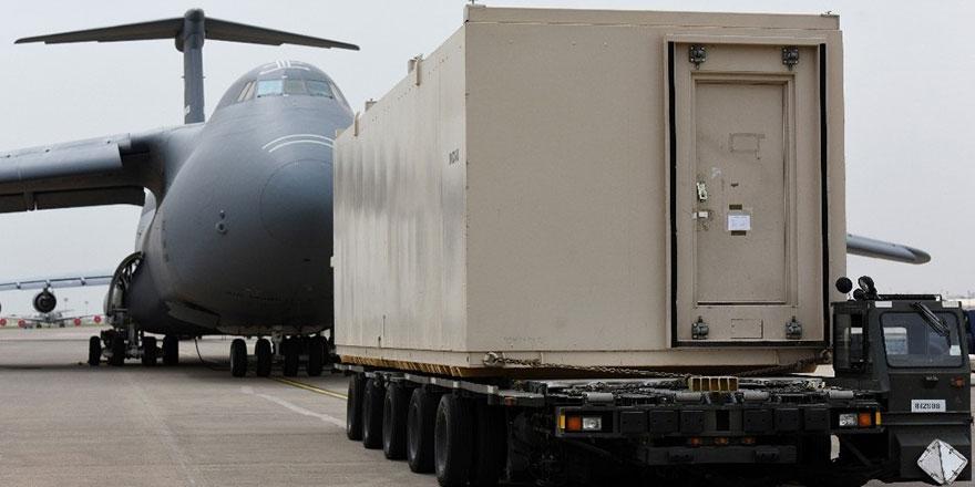 İncirlik'teki 40 tonluk silah deposu taşındı