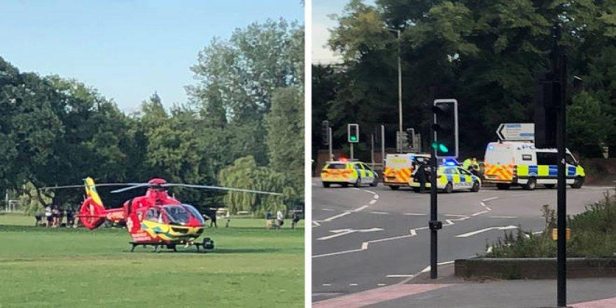 İngiltere'de parkta bıçaklı saldırı