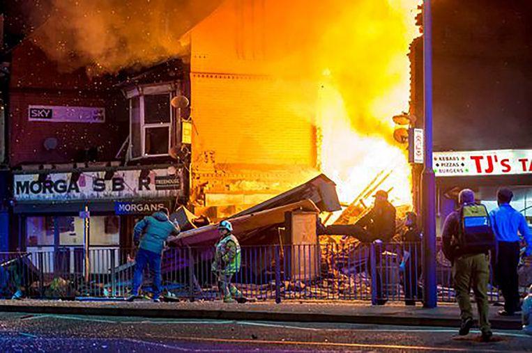 İngiltere'nin Leicester kentinde şiddetli patlama!