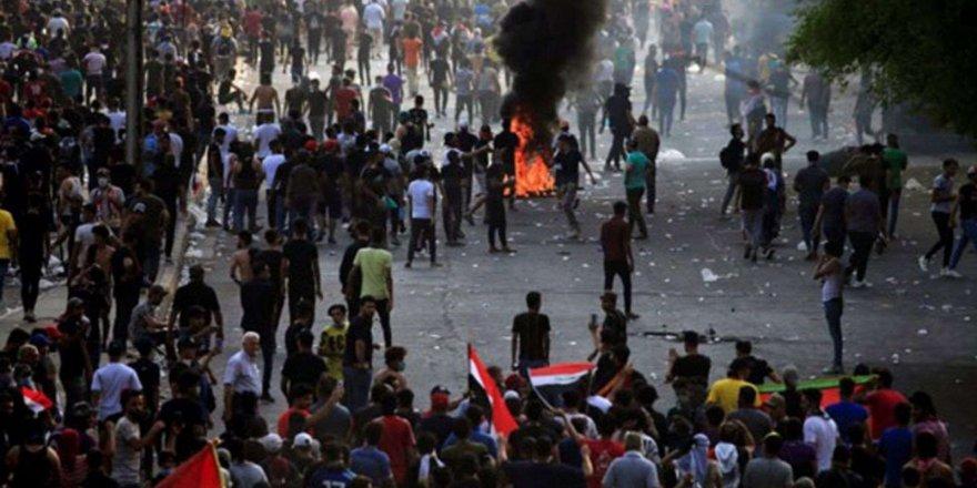 Irak karıştı: 3 protestocu öldü, 70 kişi yaralandı