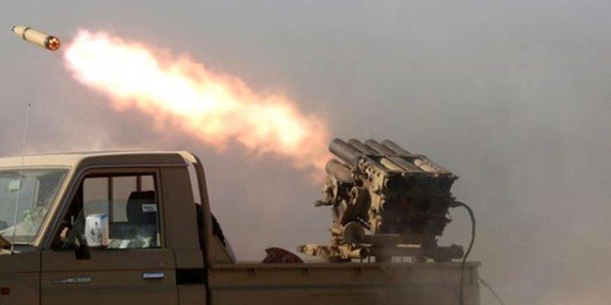 Irak'ta ABD askerlerinin üssüneroketli saldırı!