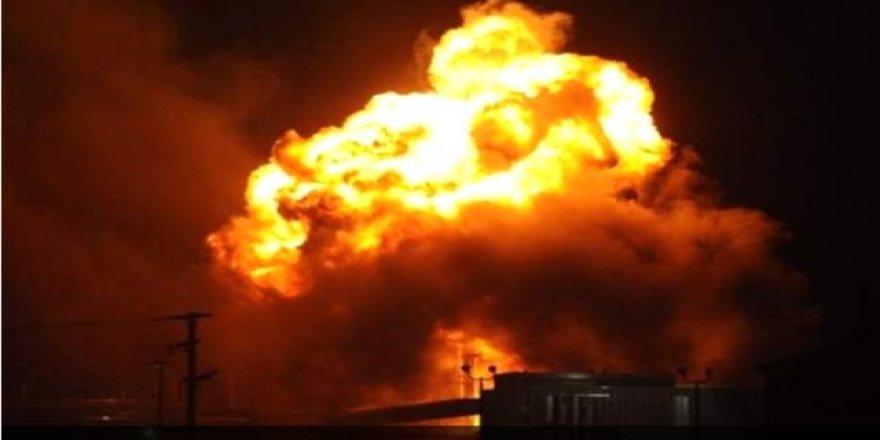 Irak'ta askeri üsse füze atıldı