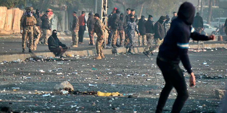 Irak'ta göstericiler yeniden sokaklarda