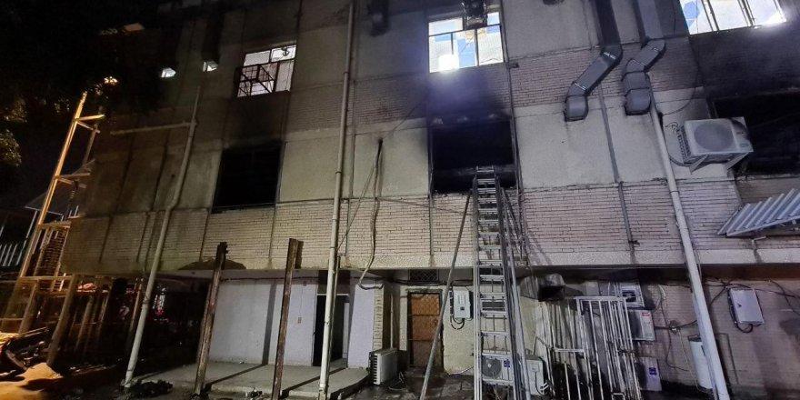 Irak'taki hastane yangınında 'sabotaj' iddiası