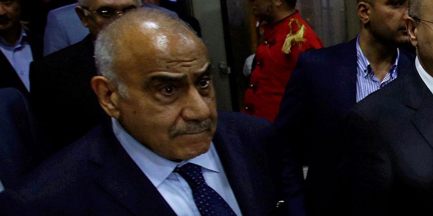 İran destekli Irak başbakanı Abdulmehdi istifa etti