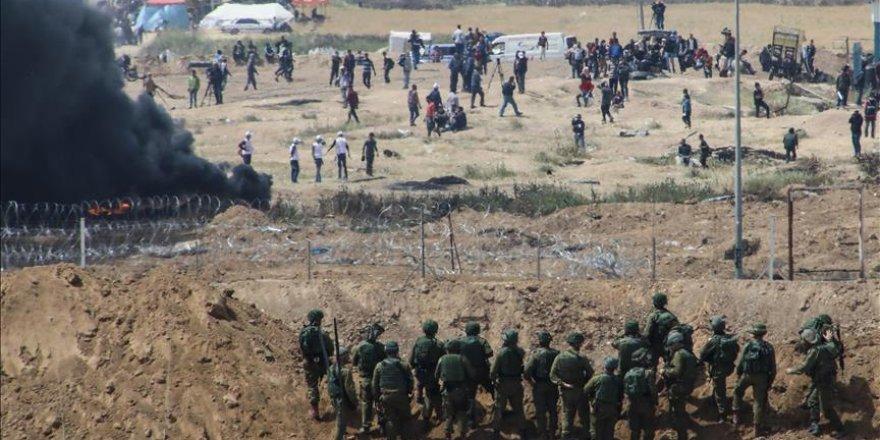 İşgalci İsrail askerleri, 30 Filistinliyi yaraladı