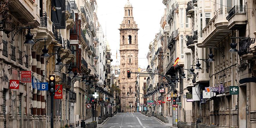 İspanya'da 5 gün sonra ölü sayısı yükselişe geçti