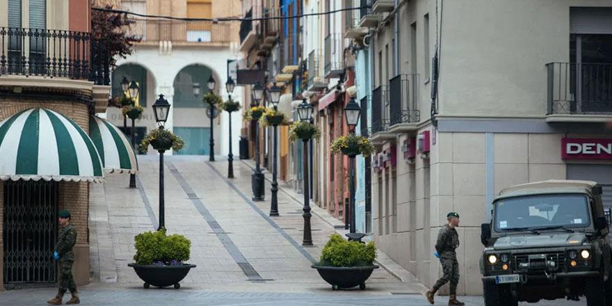 İspanya'da hükümet Madrid bölgesinde OHAL ilan etti